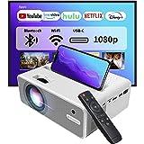 EZCast Beam H3 5 GHz WiFi-projector | Native 1080P Office-projector, 10600 lumen, USB-C en HDMI-poort, compatibel met Fire TV
