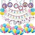 Party Propz Unicorn Birthday Supplies Set Of 66Pcs - For Unicorn Balloons or Unicorn Birthday Party Decorations/ Unicorn Birt