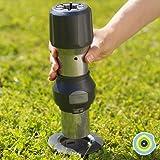 GARD & ROCK - VOET VOOR RECHTE PARASOLS, uit aluminium - Veelvuldige toepassingen, op de verankeringsbasis te clipsen - Quick
