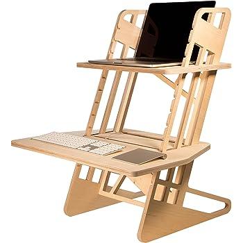 Helmm Standing Desk Converter S Desk 22 Adjustable Height