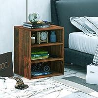 Klaxon Statice Three Drawer Storage Cabinet - Walnut