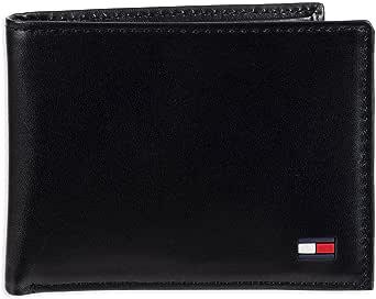 Tommy Hilfiger Men's Dore Passcase Billfold Wallet,Navy,One Size