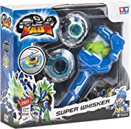 Infinity Nado Super Whisker Spinning Top with Launcher, 12 Pieces, Toys for Boys, 3 Years & Above
