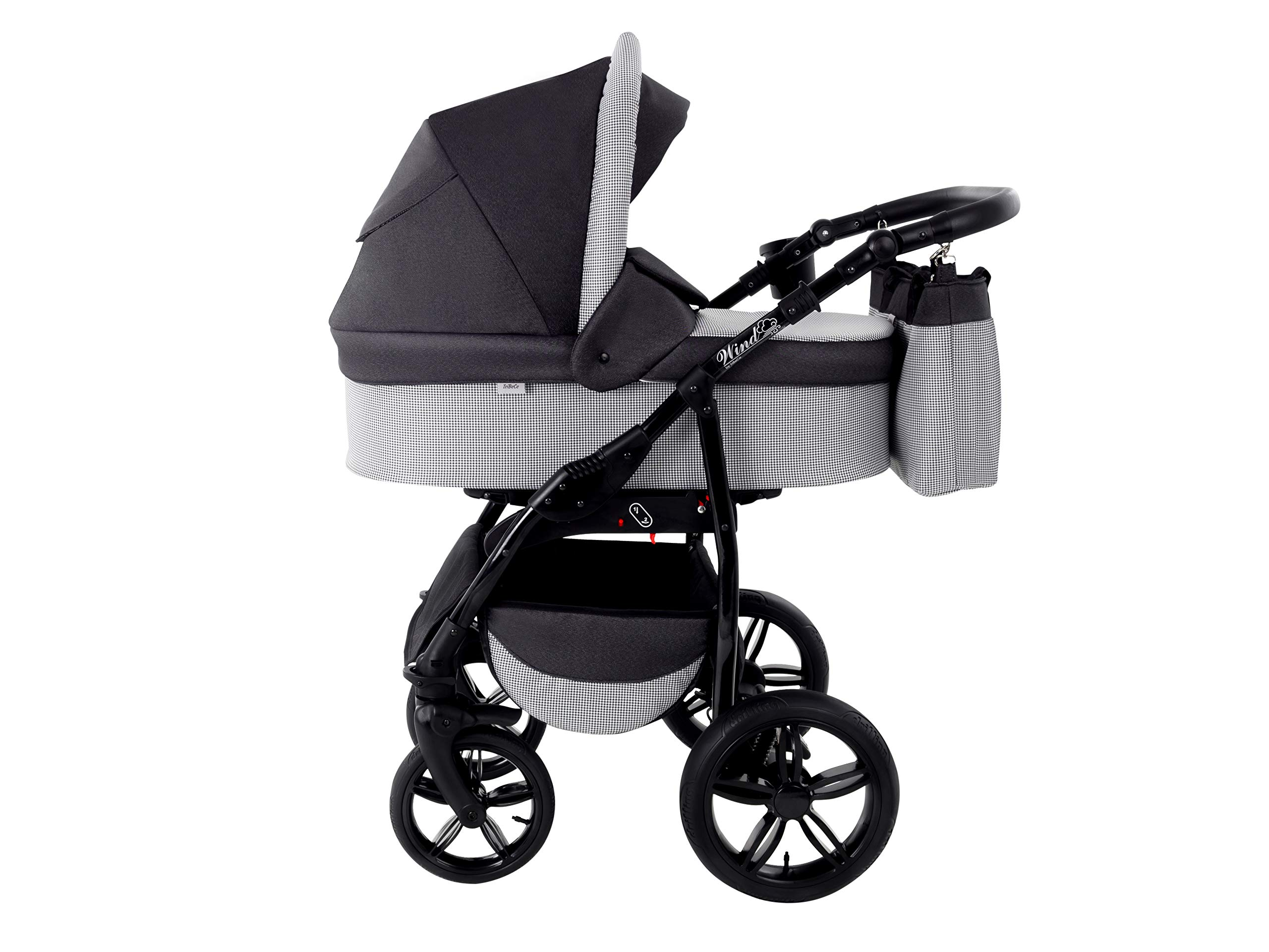 Baby Pram Zeo Wind 3in1 Set - All You Need! carrycot Gondola Buggy Sport Part Pushchair car seat (54) Zeo 3 in 1 combination stroller complete set, with reversible seat units to the buggy, child car seat or baby carriage The baby carriage is suitable for babies from 0 months to 3 years (0-15 kg) Has 360 ° swiveling wheels, four-fold suspension, four-stage backrest, five-position adjustable footrest and a five-point safety belt 3