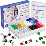 Organic Chemistry Model Kit (239 Pieces) - Molecular Model Student or Teacher Pack with Atoms, Bonds and Instructional Guide