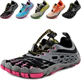 MARITONY Barefoot Shoes Children's Barefoot Shoes Boys Girls Breathable Non-Slip Trail Running Shoes Hiking Shoes Lightweight