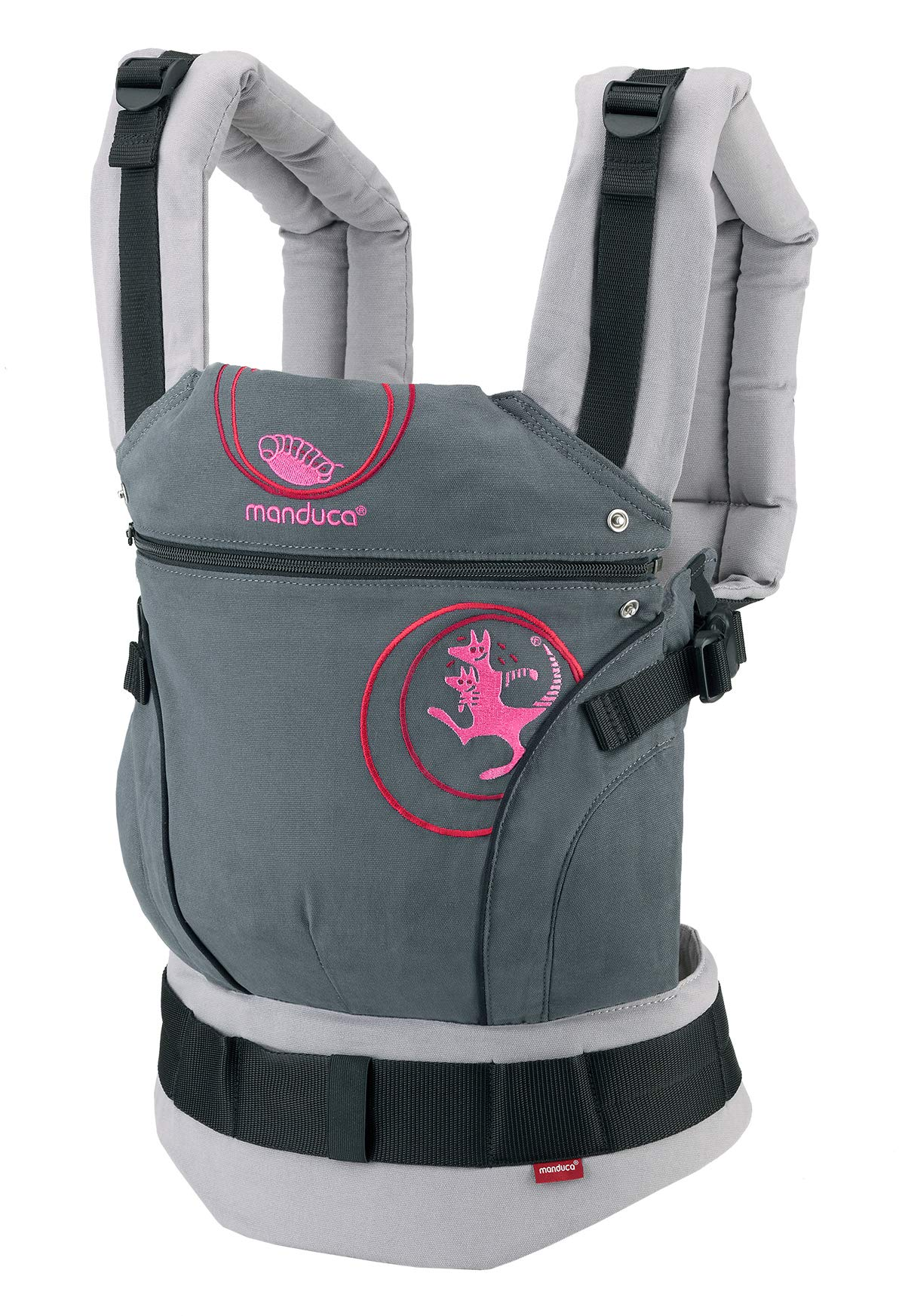 817kolLMJzL - manduca First Baby Carrier > PureCotton < Mochila Portabebe Ergonomica, Algodón Orgánico, Extensión de Espalda Patentada, para Recién Nacidos y Bebés de 3,5 a 20 kg