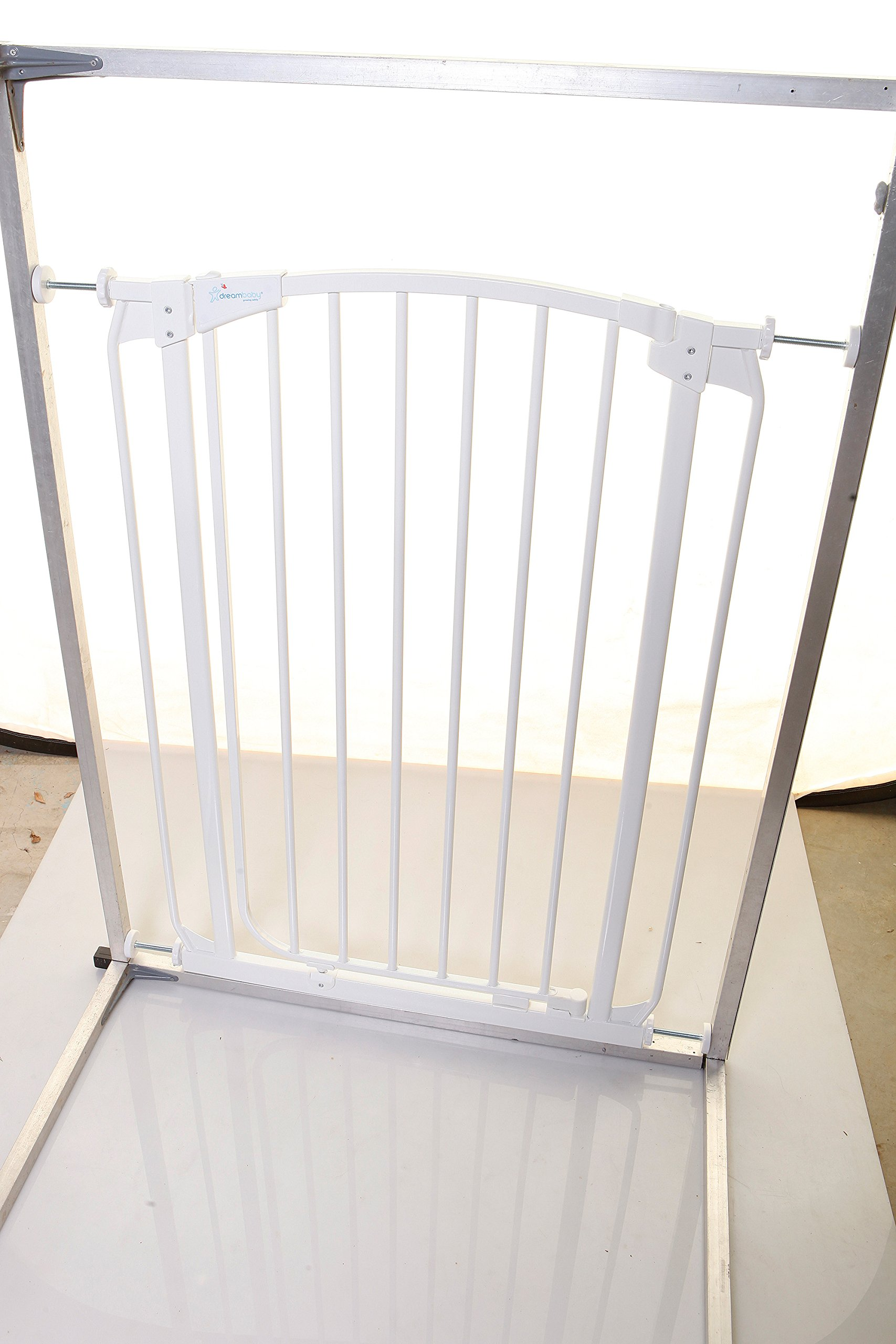 Stork Tall Safety Gate (Fits 71-80 cm) White  Stork