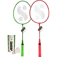 Silver's Kids SIL-JB190 Combo-5 Aluminum Badminton Set