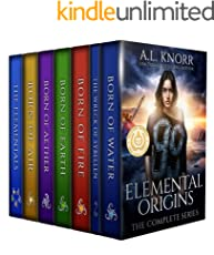 Elemental Origins: The Complete Series: (Water, Fire, Earth, Air, Aether, Ensemble Novel) (English Edition)