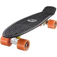 Ridge Mini Cruiser Skateboard, Nero