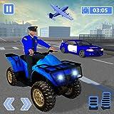 Voiture de limousine de la police américaine: jeu de transporteur quad quad