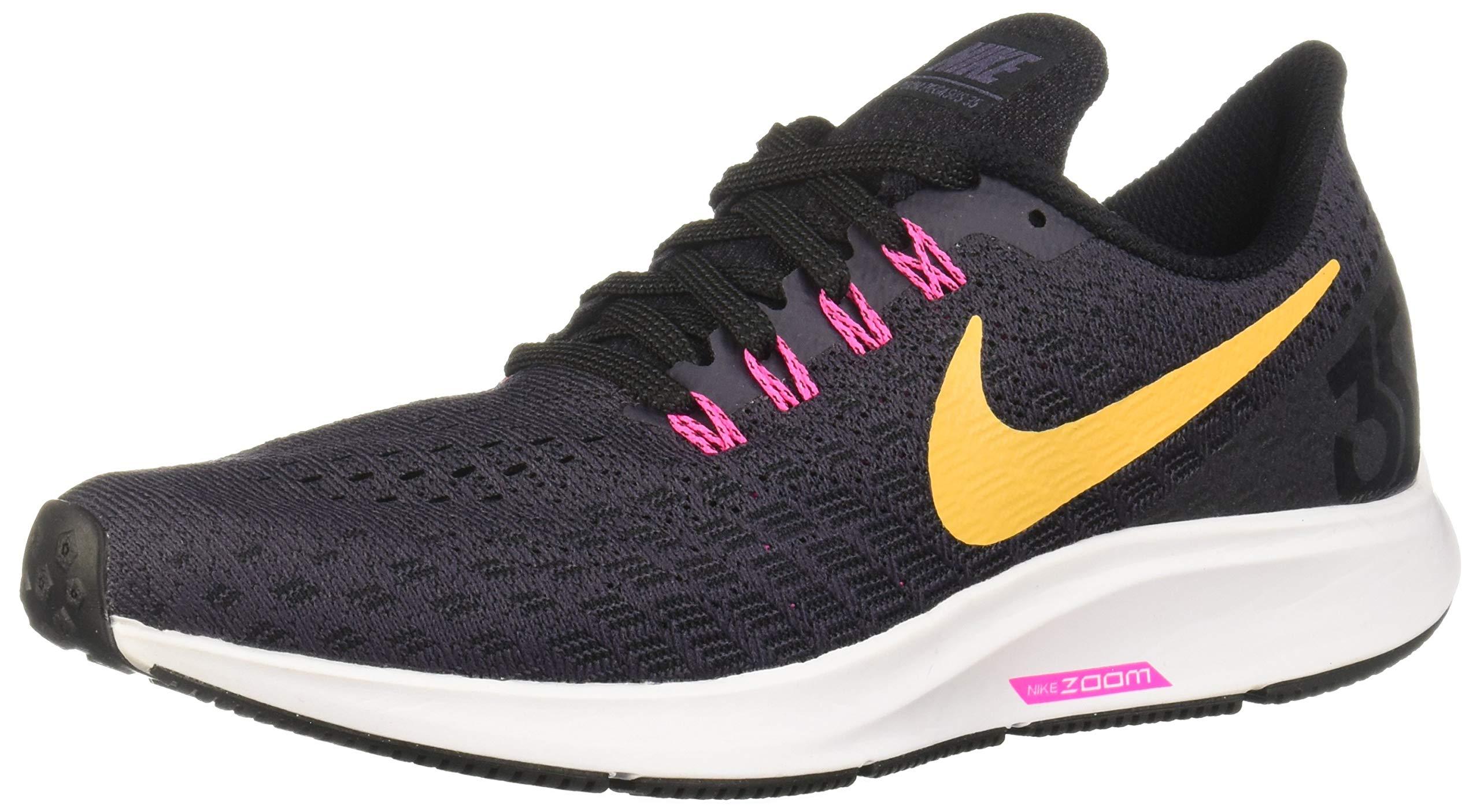 Nike Damen Air Zoom Pegasus 35 Laufschuhe, Schwarz