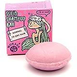 MORAVA Haar Shampoo Bar trockenes & strapaziertes Haar und gegen Haarausfall | Haarshampoo Bio Damen vegan plastikfrei | Fest