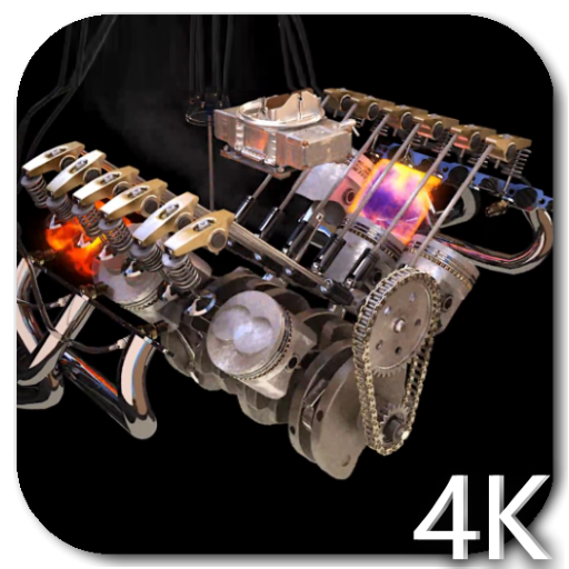 Engine 4k Video Live Wallpaper Amazon Co Uk Appstore For Android