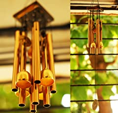Paradigm Pictures Pipe & Bells Wind Chime for Home Positivity & Home Balcony Garden Decoration