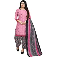 Rajnandini Women's Cotton Geometric Printed Unstitched Salwar Suit Material
