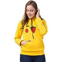 FUNDAY FASHION Pikachu Hoodie Sweatshirt for Women and Girls