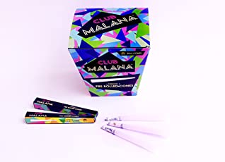 Club Malana Pre Rolled Cones rolling paper, smoking paper, pre rolled cones, smoking cones,blunt paper