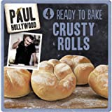 Paul Hollywood 4 Ready to Bake Crusty Rolls, 200 g - Pack of 3 (Total 12 Rolls