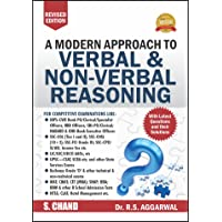 A Modern Approach to Verbal & Non-Verbal Reasoning by R.S. Aggarwal (Old Edition)