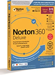 NEW Norton 360 Deluxe 2020 | 2 Devices Special | Internet Security, Antivirus and VPN | Hacking, Data Theft Protection| Passw