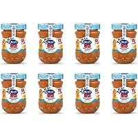 Hero Light Confettura di Albicocche light, 8 vasetti da 280 gr, marmellata e confettura extra, frutta di alta qualità…