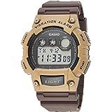 Casio Men's Black Dial Resin Digital Watch - W-735H-5AVDF
