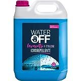Water Off - 5lt Lavavetri Liquido Detergente Idrorepellente Pronto all'Uso, 4 Stagioni per vaschette Auto