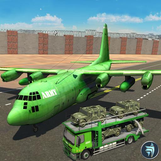 US Army Border Wall Flugzeug Transport Armee Spiele