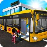 Autobús escolar simulador de conducción 2017: Conductor de autobús de la ciudad