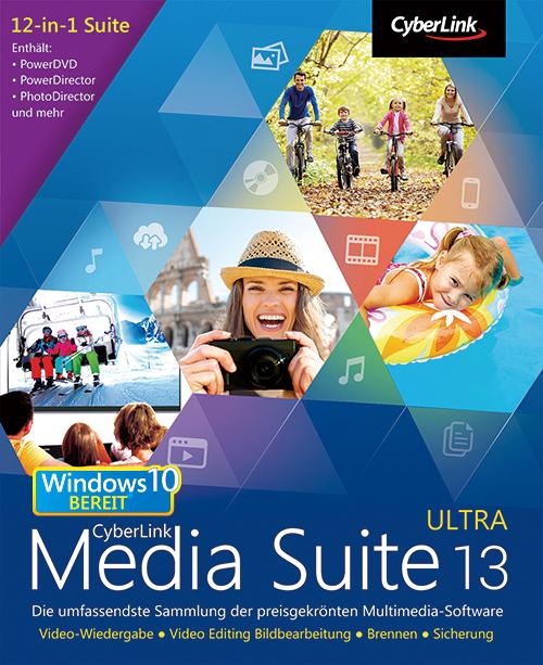CyberLink Media Suite 13 Ultra [Download]
