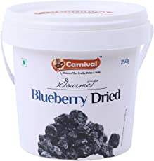 Carnival Blueberries Dried, 250g