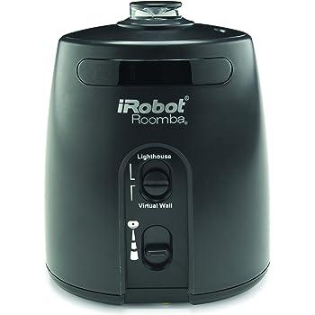 IRobot Lighthouse 81002 Muro virtuale per modello Roomba, colore: Nero