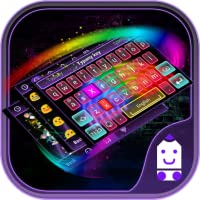 Rainbow Neon Theme&Emoji Keyboard