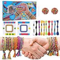 tiopeia Kit Bracelet d'Amitié Bresilien Colorées pour la Fabrication de Bracelet Filles Bijoux Bracelet Bricolage Craft…