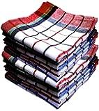Qualcosa Kitchen - Cleaning Cloth Multipurpose Kitchen Towels Cotton Dish Napkin - Machine Washable - Multi Coloured…