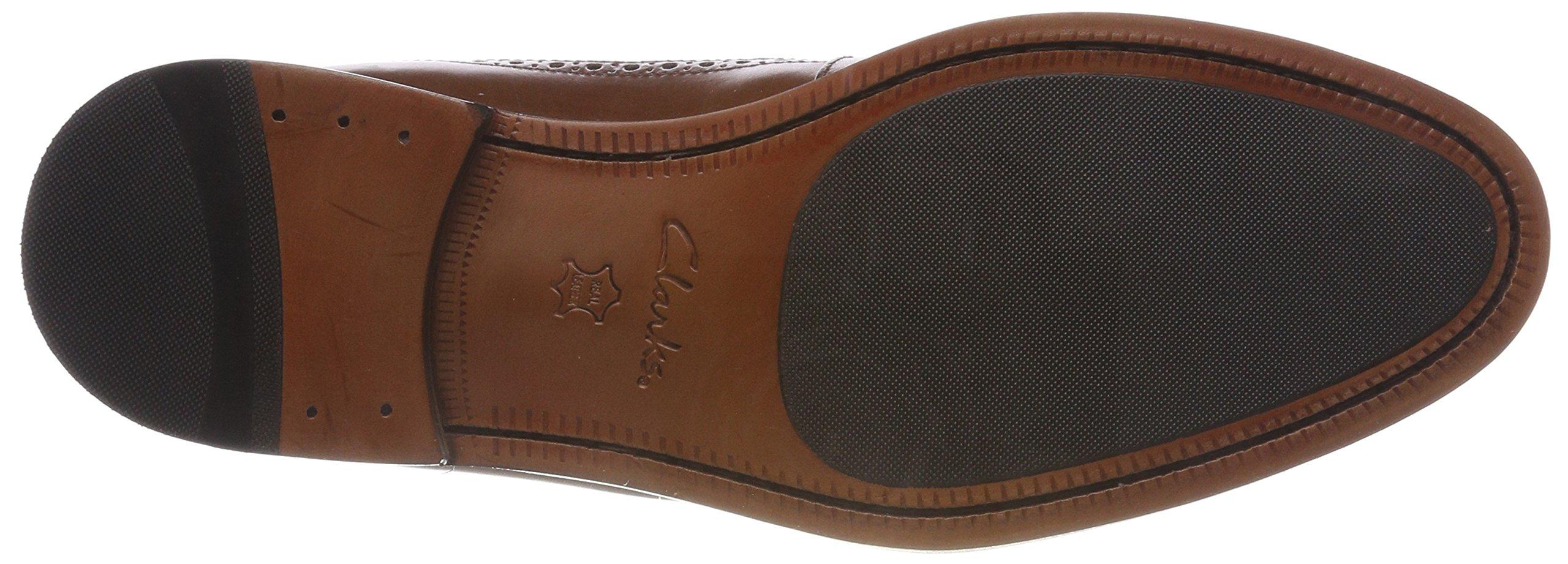 Clarks Coling Limit, Zapatos de Cordones Brogue Hombre