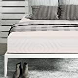 "SleepSpa Premium Orthopaedic 5"" Single Size Memory Foam Mattress (Beige,72X36X5)"