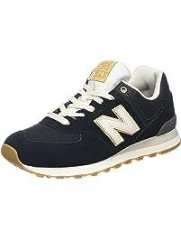 New Balance ML574OU, Zapatillas para Hombre, Varios Colores (Lime), 42.5 EU