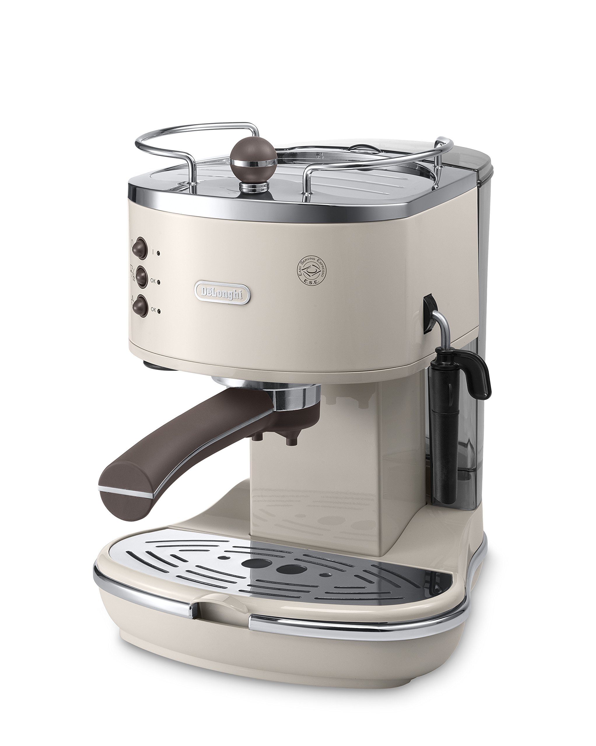 De'Longhi Icona Vintage ECOV 311.BG Macchina da Caffè Espresso Manuale e Cappuccino, Caffè in Polvere o in Cialde E.S.E… 1 spesavip