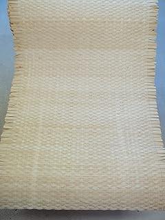 Wabengeflecht beizbar//lackierbar rattan-petrak 1 lfd Flechtgewebe aus Peddigschienen 90 cm breit Meter Wiener Geflecht Heizk/örperverkleidung