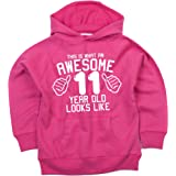 Edward Sinclair This is What an Awesome 11Ans Looks Like Girls Sweat à Capuche