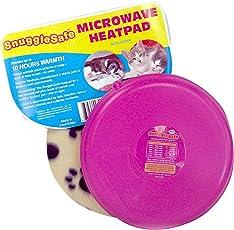 Snuggle Safe Wärmeplatte mit Fleecebezug, kabellos (farblich sortiert)