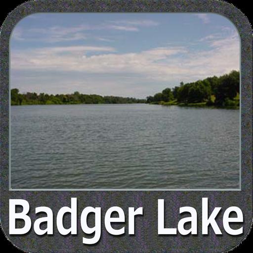 Badger Lake - IOWA GPS Map Lowrance-gps-software