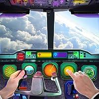 Cabine d'avion simulateur de Vol 3D