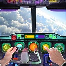 Flugzeug-Cockpit-Flugsteuerungs-Simulator 3D