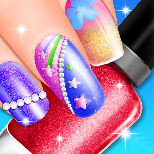 Princess Girls Nail Salon and Spa - Nail Makeover Girls Games - Nail Salon Game