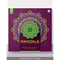 Mandala Colouring Book for Adults with Tear Out Sheets | Beginner