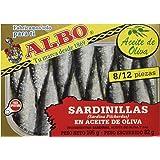 Albo Sardinillas en Aceite de Oliva 8/12 Piezas, 105g
